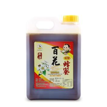 【蜂蜜世界】百花蜂蜜3000g(贈130gx3入)