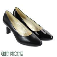 GREEN PHOENIX 鏡面素面高跟鞋U23-20980