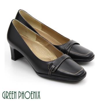 GREEN PHOENIX 簡約氣墊高跟鞋U23-20262