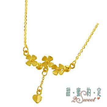 【甜蜜約定】甜蜜純金項鍊NC-S130