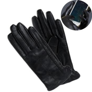 XINCHI 皮手套防風觸控(女-顯瘦款)