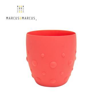 【MARCUS&MARCUS】動物樂園矽膠防滑學習杯-獅子(紅)