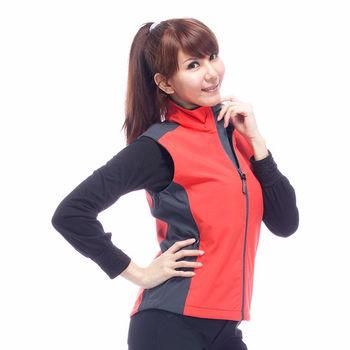 【JORDON】WINDCOVER 軟殼衣 女彈性防風透氣背心(0616)