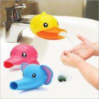 【兩件入】兒童可愛卡通造型洗手水龍頭延伸器