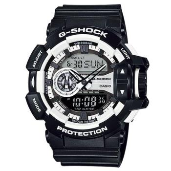 G-SHOCK 時尚新層次秋街頭雙顯運動錶 GA-400-1A