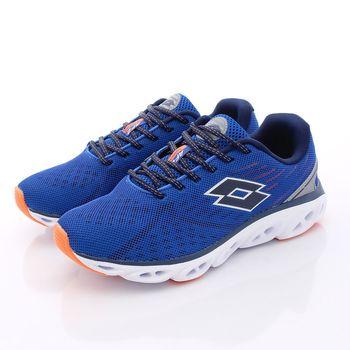 Lotto樂得-氣動減震跑鞋款-3706藍(男段)(25.5cm~29cm)