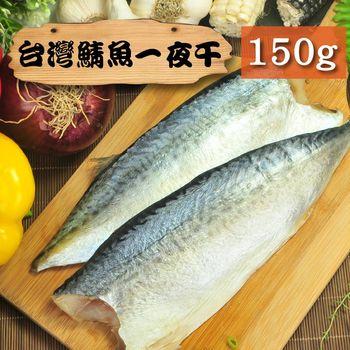 【漁季】台灣南方澳鯖魚一夜干1片-150/g/片