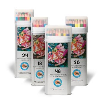 專業級水溶性彩色鉛筆-48色