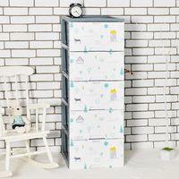 nicegoods五層收納置物櫃DIY-卡蘿北歐風