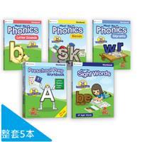 【美國PreSchool Prep】WorkBooks練習本 套組(5本)