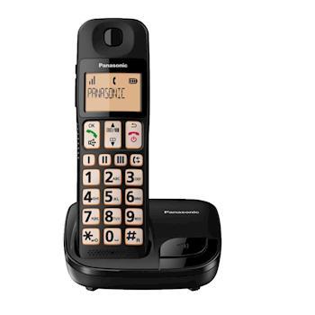 Panasonic國際牌 DECT大字體大按鍵數位無線電話KX-TGE110TW