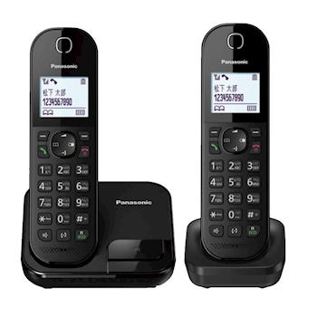 Panasonic國際牌 DECT雙子機中文數位無線電話KX-TGC282TW(買就送)