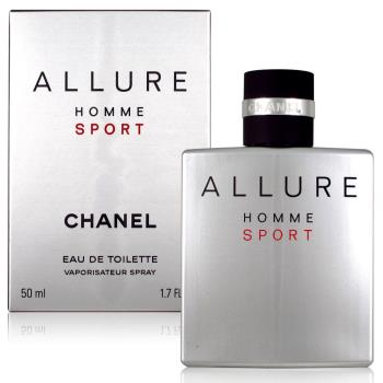 CHANEL 香奈兒 ALLURE HOMME SPORT EDT 50ml 平行輸入