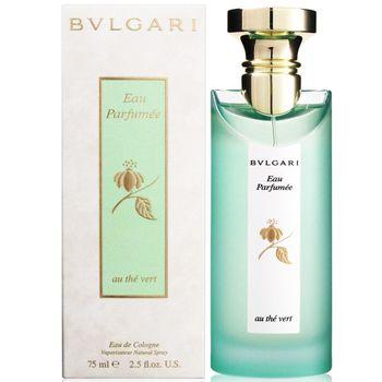 BVLGARI 寶格麗 綠茶 中性古龍水 75ml+隨機針管香水2份