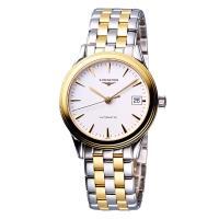 LONGINES Flagship 優雅旗艦機械腕錶-雙色/36mm L47743227