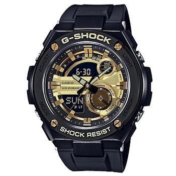G-SHOCK 絕對強悍精密防震全新混色概念休閒錶 GST-210B-1A9