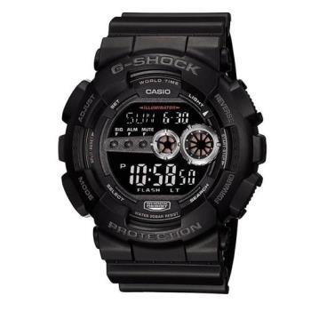 G-SHOCK 高亮眼超個性強悍休閒錶 GD-100-1B
