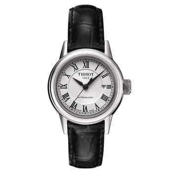 TISSOT T-Classic Carson 羅馬機械女錶-銀/29mm T0852071601300