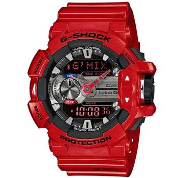 G-SHOCK 生活音樂MIX玩酷控制藍芽錶 GBA-400-4A