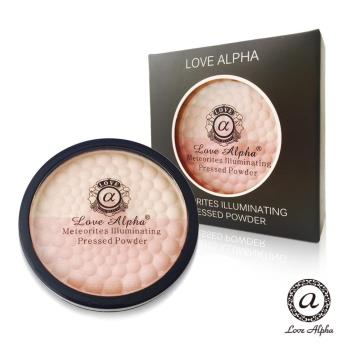 【Love Alpha】二合一雙色蘋果光幻彩腮紅蜜粉餅