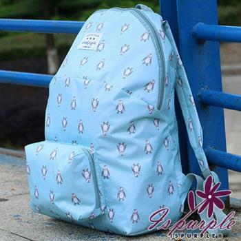 【iSPurple】動物馬卡龍*摺疊防水後背包/三款可選