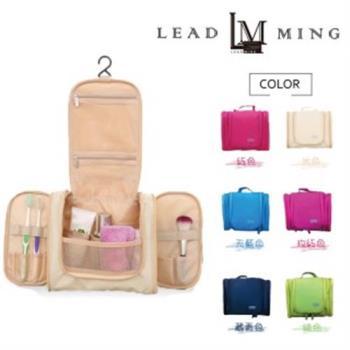 【Leadming】第二代懸掛式可折疊大容量旅行收納盥洗包(多種顏色可選)