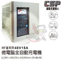 MF系列48V15A微電腦全自動充電機 (電動推高機適用)