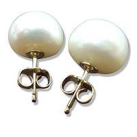 (小樂珠寶)  打名媛千金感‧氣質100%,輕柔唯美---頂級大顆天然珍珠耳環