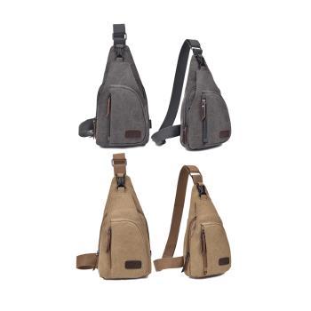 (shop4fun)帆布百搭大尺寸斜肩包跨胸包