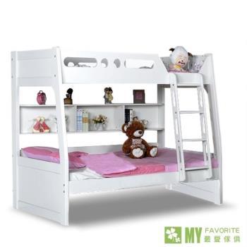 【喬立爾-最愛傢俱】歐樂雅雙層床+記憶床墊