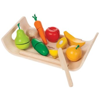 GMP BABY PLAN TOYS綜合蔬菜水果盤-PT3416