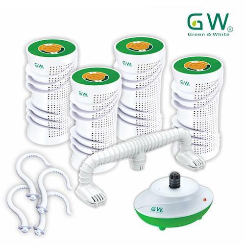 GW水玻璃分離式除濕機特惠組六件組