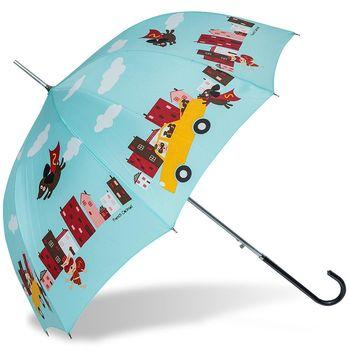rainstory雨傘-Super dog(綠)抗UV自動開直骨傘