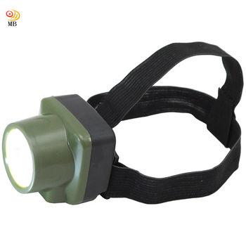 月陽充電式頭戴1W2段高亮度頭燈桌燈工作燈(2014-1)