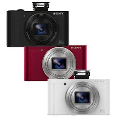 [32G電池座充組]SONY WX500 玩美翻轉 光學30x數位相機(公司貨)