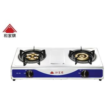 和家牌不銹鋼快速檯面式安全爐瓦斯爐(桶裝瓦斯)GS-221