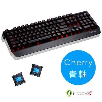 i-rocks 艾芮克 K60M 機械式CHERRY USB(黑) 青軸 電競鍵盤