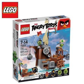 樂高【LEGO】Angry Birds系列 L75825Piggy Pirate Ship