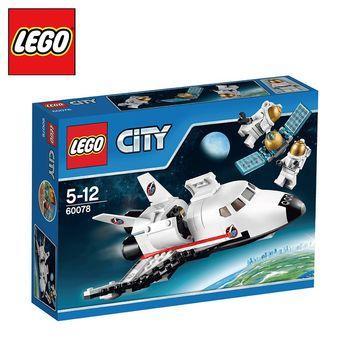 樂高【LEGO】City系列 L60078 City系列-太空探險多功能太空梭