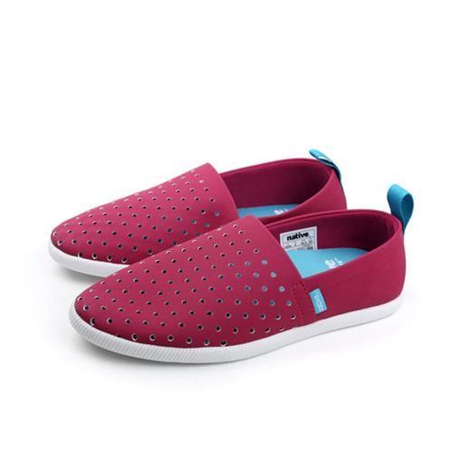 native 休閒鞋 深紅色 男女鞋 no526