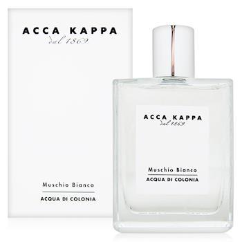 ACCA KAPPA 白麝香男性古龍水100ml+隨機針管香水一份