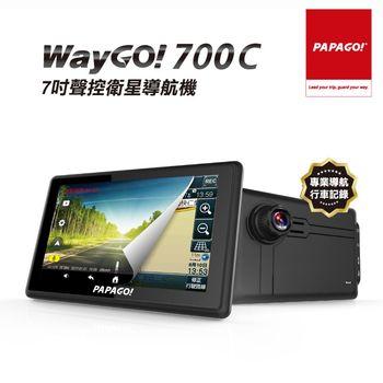 PAPAGO!WayGo700C多機一體七吋Wi-Fi行車聲控導航機