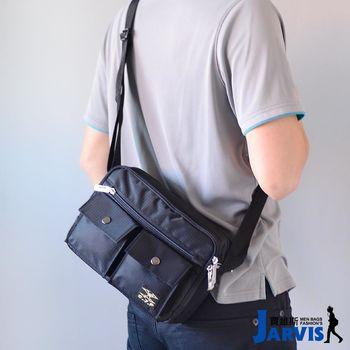 Jarvis賈維斯 側背包 休閒公事包-格調-8811-1