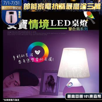 【Anbao 安寶】情境LED觸控桌燈(AB-7901)