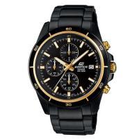 EDIFICE 精準時刻賽車計時指針腕錶 EFR-526BK-1A9