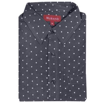 【MURANO】暖流圓點印花燈芯絨男款長袖襯衫-兩色