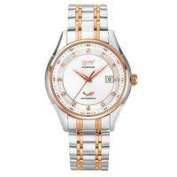 Ogival 瑞士愛其華  典韻品味真鑽機械錶-雙色/42mm  3356AJGSR