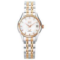 Ogival 瑞士愛其華  典韻品味真鑽機械錶-雙色/34mm  3356AJBSR