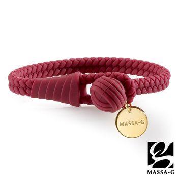 MASSA-G 【絕色典藏】負離子能量手環/腳環-珊瑚紅
