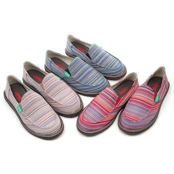 【 cher美鞋】MIT多彩織紋帆布焦點休閒鞋♥黑色/米色/紅色♥RKP-D